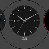 Выбор циферблата LG G Watch R. Рис. 4