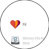 Приложения на LG G Watch R. Рис. 1