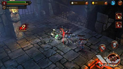 Игра Eternity Warriors 2 на Lenovo P70