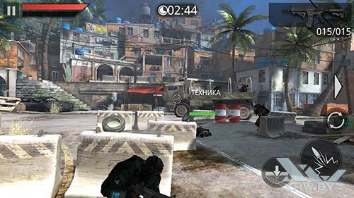 Игра Frontline Commando 2 на Lenovo P70
