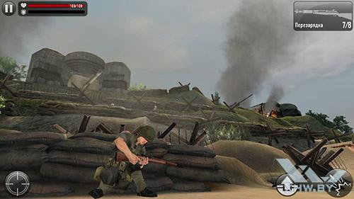 Игра Frontline Commando: Normandy на Lenovo P70