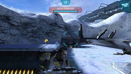 Игра Mass Effect: Infiltrator на Lenovo P70