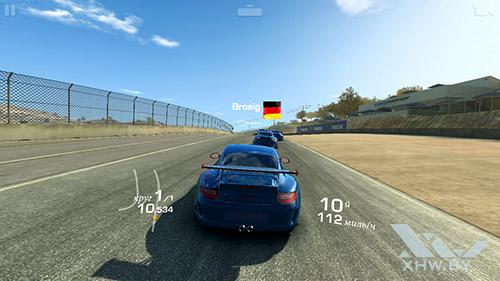 Игра Real Racing 3 на Lenovo P70