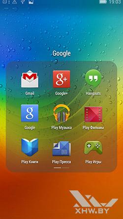 Приложения Google на Lenovo P70