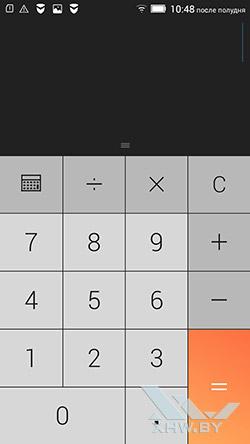 Калькулятор на Lenovo P70