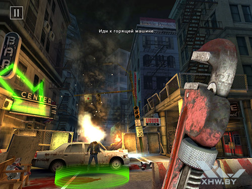 Игра Dead Trigger 2 на Samsung Galaxy Tab A 8.0