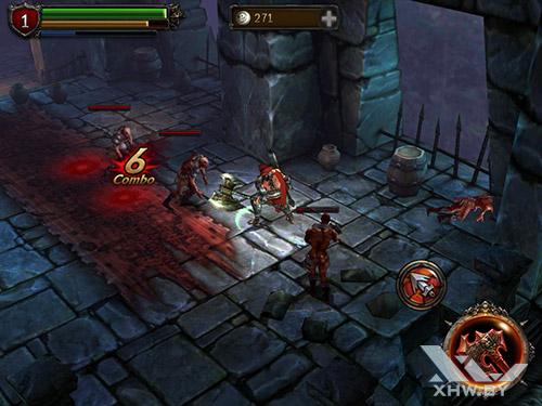 Игра Eternity Warriors 2 на Samsung Galaxy Tab A 8.0