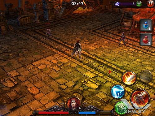 Игра Eternity Warriors 3 на Samsung Galaxy Tab A 8.0