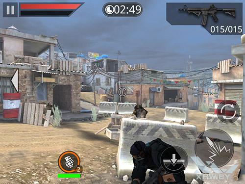 Игра Frontline Commando 2 на Samsung Galaxy Tab A 8.0