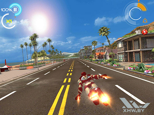 Игра Железный человек 3 на Samsung Galaxy Tab A 8.0