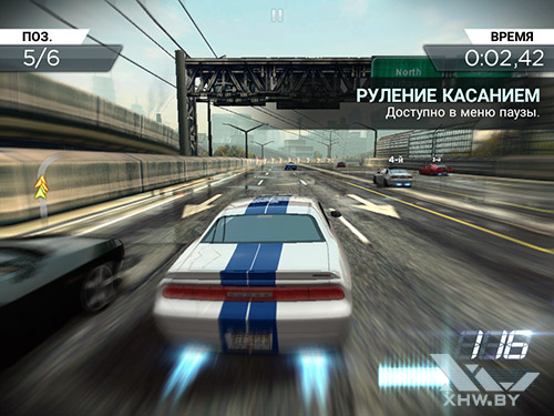 Игра Need For Speed: Most Wanted на Samsung Galaxy Tab A 8.0