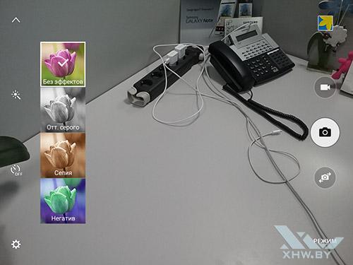 Фильтры камеры на Samsung Galaxy Tab A 8.0