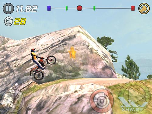 Игра Trial Xtreme 3 на Samsung Galaxy Tab A 8.0