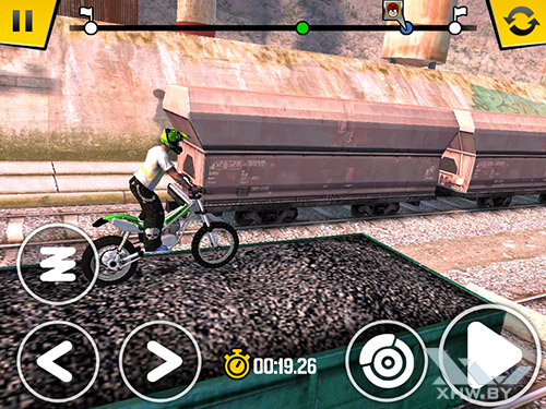 Игра Trial Xtreme 4 на Samsung Galaxy Tab A 8.0