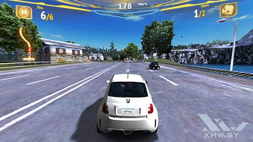 Игра Asphalt 7 на Samsung Galaxy S6