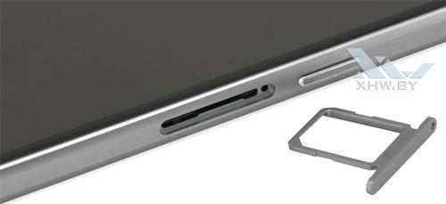 Отсек для SIM-карты на Samsung Galaxy S6