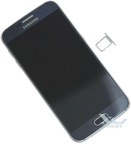 Держатель для SIM-карты от Samsung Galaxy S6