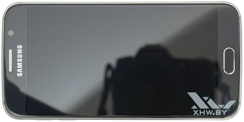 Samsung Galaxy S6. Вид сверху