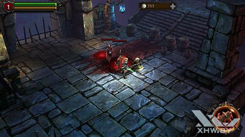 Игра Eternity Warriors 2 на Samsung Galaxy S6
