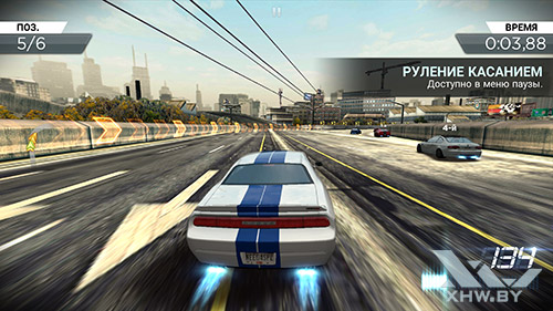Игра Need For Speed: Most Wanted на Samsung Galaxy S6