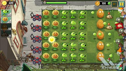 Игра Plants vs Zombies 2 на Samsung Galaxy S6