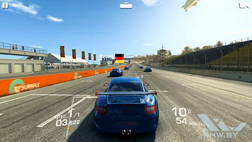 Игра Real Racing 3 на Samsung Galaxy S6