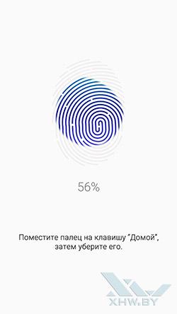 Сканирование отпечатка на Samsung Galaxy S6. Рис. 2