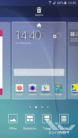 Рабочие столы Samsung Galaxy S6