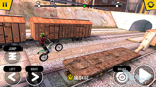 Игра Trial Xtreme 4 на Samsung Galaxy S6