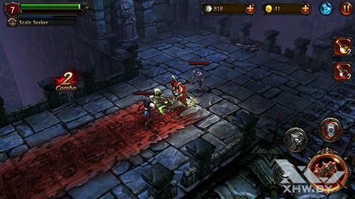 Игра Eternity Warriors 2 на Lenovo P90