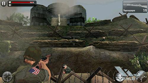 Игра Frontline Commando: Normandy на Lenovo P90