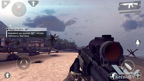 Игра Modern Combat 4 на Lenovo P90