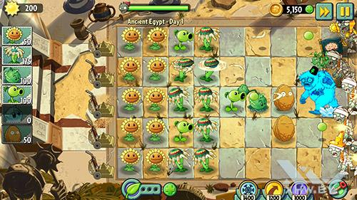 Игра Plants vs Zombies 2 на Lenovo P90
