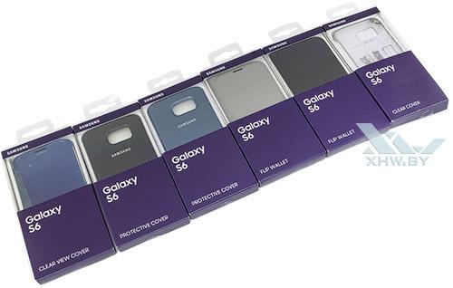 Чехлы и обложки для Galaxy S6
