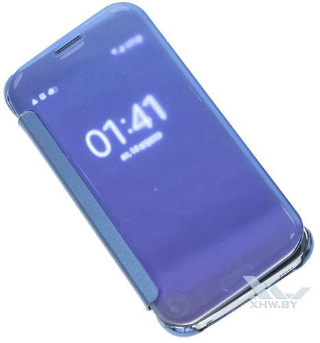 Прозрачность Clear View Cover для Galaxy S6