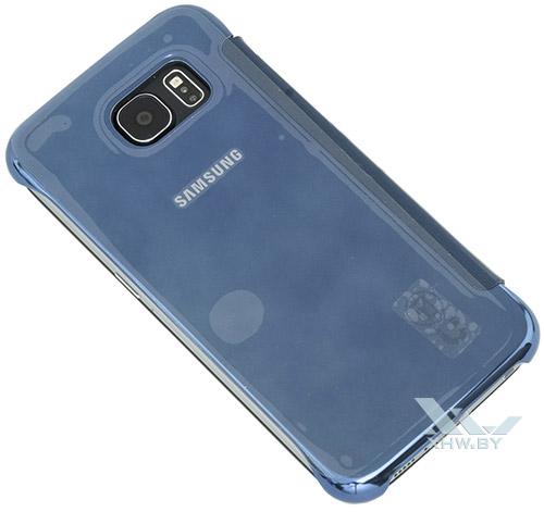 Clear View Cover для Galaxy S6. Вид сзади