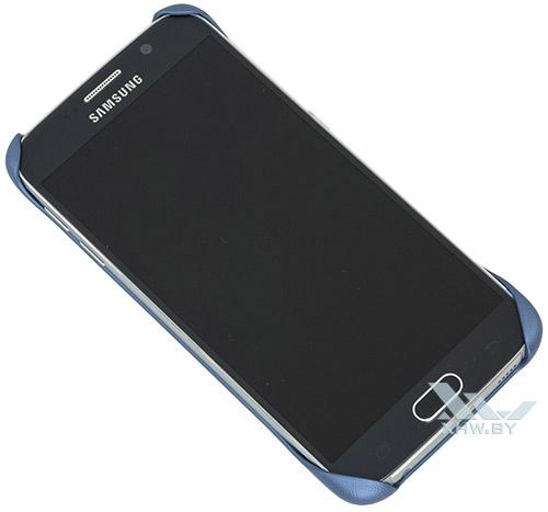 Protective Cover для Galaxy S6 синего цвета