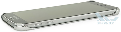 Clear Cover для Galaxy S6. Вид сбоку