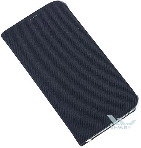 Закрытый Flip Wallet для Galaxy S6 синего цвета