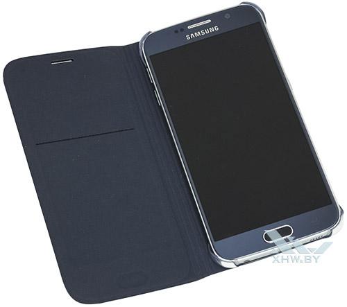 Синий Flip Wallet для Galaxy S6