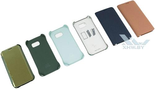 Шесть чехлов и обложек для Galaxy S6 edge