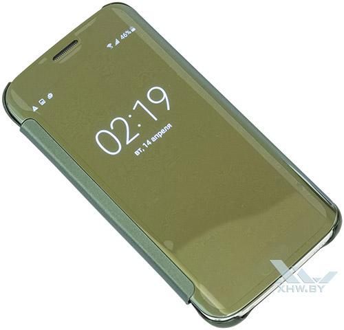 Прозрачность Clear View Cover для Galaxy S6 edge