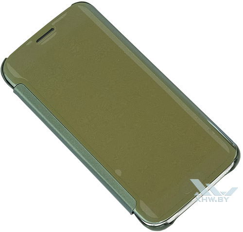 Закрытый Clear View Cover для Galaxy S6 edge