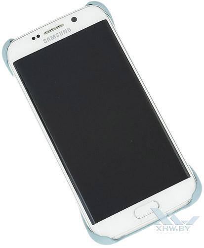 Голубой Protective Cover для Galaxy S6 edge