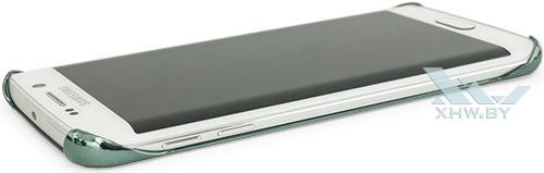 Clear Cover для Galaxy S6 edge. Вид слева