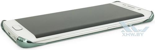 Clear Cover для Galaxy S6 edge. Вид справа
