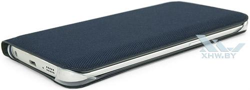 Flip Wallet для Galaxy S6 edge. Вид справа