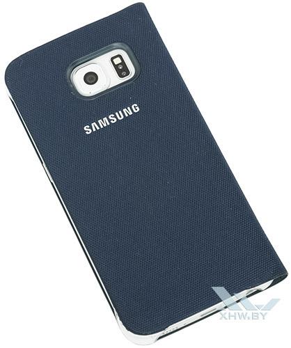 Flip Wallet для Galaxy S6 edge. Вид сзади