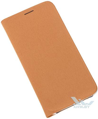 Оранжевый Flip Wallet для Galaxy S6 edge