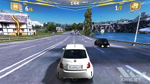 Игра Asphalt 7 на Samsung Galaxy S6 edge